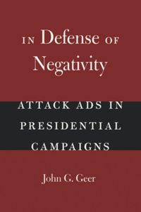 Test Cover Image of:  In Defense of Negativity