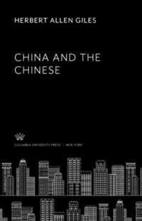 Test Cover Image of:  China and the Chinese