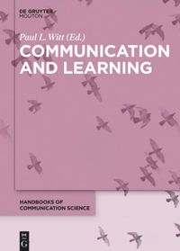Book cover: Communication and learning