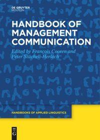 book: Handbook of Management Communication