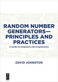 Random Number Generators—Principles and Practices
