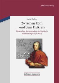 """Cover der Monografie """"Zwischen Rom und dem Erdkreis"""""""