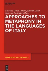 Metaphony in the Languages of Italy