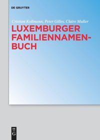 Luxemburger Familiennamenbuch