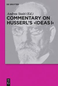 "Commentary on Husserl's ""Ideas I"" Book Cover"