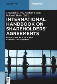 International Handbook on Shareholders´ Agreements