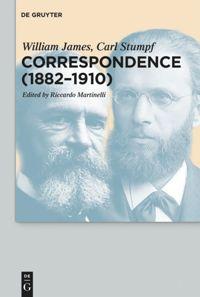 Correspondence (1882-1910), De Gruyter, 2018 Book Cover