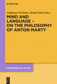 Mind and Language – On the Philosophy of Anton Marty Book Cover