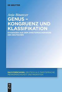 Genus – Kongruenz und Klassifikation