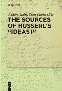 The Sources of Husserl's 'Ideas I' Book Cover
