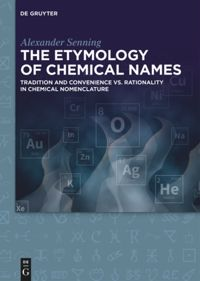 The Etymology of Chemical Names