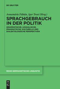 Sprachgebrauch in der Politik
