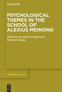 Psychological Themes in the School of Alexius Meinong Book Cover