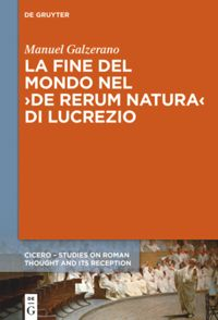 book: La fine del mondo nel ›De rerum natura‹ di Lucrezio