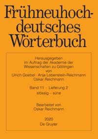 Frühneuhochdeutsches Wörterbuch 11/2