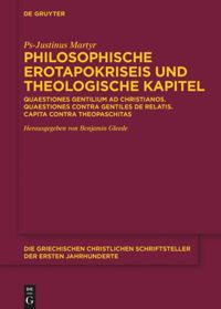 Philosophische Erotapokriseis und theologische Kapitel