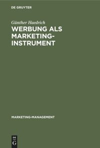 Werbung als Marketinginstrument