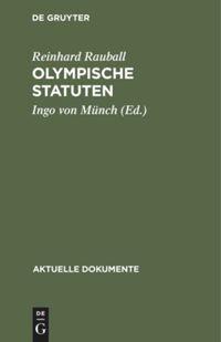 Olympische Statuten