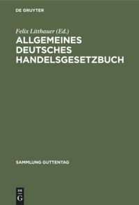Allgemeines deutsches Handelsgesetzbuch