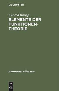 Elemente der Funktionentheorie