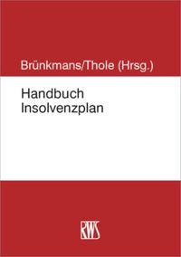 handbook of insolvency plans - Schuldenbereinigungsplan Muster