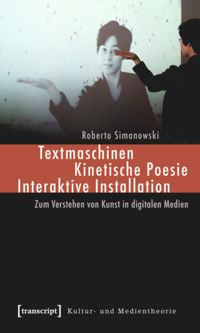 Test Cover Image of:  Textmaschinen - Kinetische Poesie - Interaktive Installation