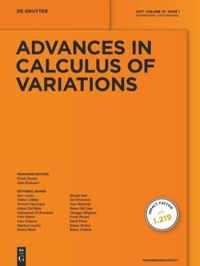 Advances in Calculus of Variations