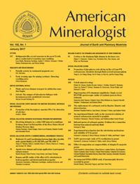 Test Cover Image of:  American Mineralogist