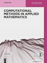 Computational Methods In Applied Mathematics De Gruyter