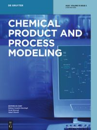 Chemical Product And Process Modeling De Gruyter