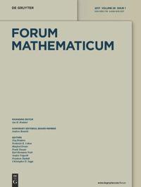 Forum Mathematicum