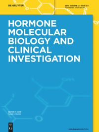 Test Cover Image of:  Hormone Molecular Biology and Clinical Investigation