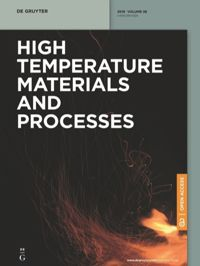 High Temperature Materials and Processes