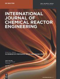 International Journal Of Chemical Reactor Engineering De Gruyter