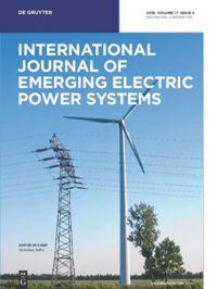 International Journal Of Emerging Electric Power Systems De Gruyter