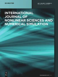 International Journal Of Nonlinear Sciences And Numerical Simulation De Gruyter