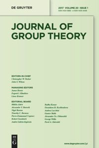 Journal of Group Theory