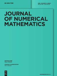 Journal of Numerical Mathematics