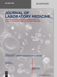 Test Cover Image of:  Journal of Laboratory Medicine