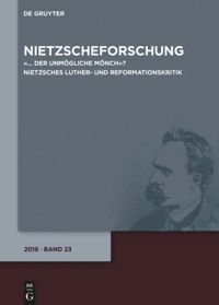 Test Cover Image of:  Nietzscheforschung