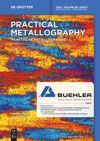 Practical Metallography