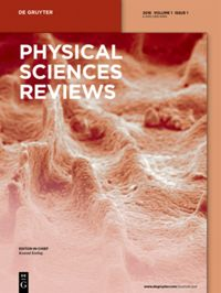 Physical Sciences Reviews