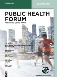 Test Cover Image of:  Public Health Forum