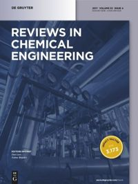 Reviews In Chemical Engineering De Gruyter