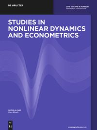 Studies in Nonlinear Dynamics & Econometrics