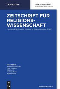 Zeitschrift für Religionswissenschaft