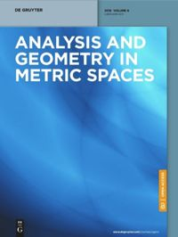 Analysis and Geometry in Metric Spaces