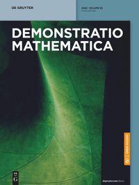 Demonstratio Mathematica