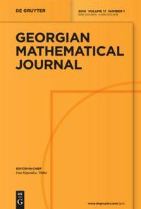 Georgian Mathematical Journal