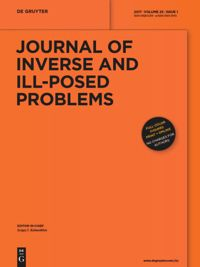 Journal of Inverse and Ill-posed Problems